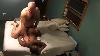 Hot Interracial Couple Lick Me then Stick Me
